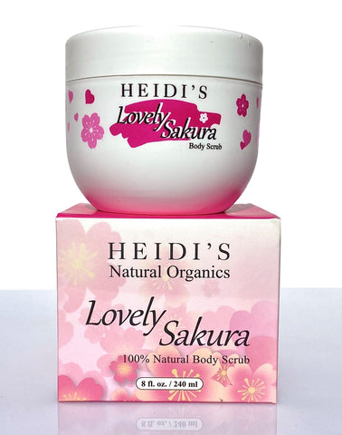 Heidi's Soft Body Scrub Lovely Sakura