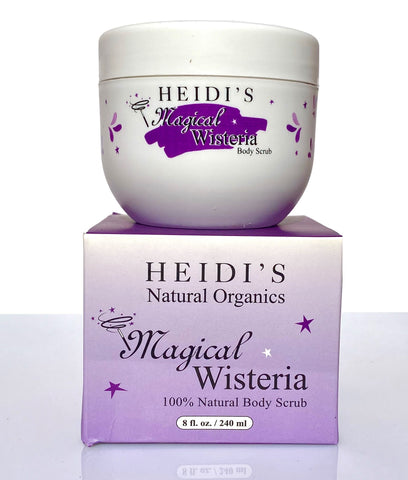 Heidi's Soft Body Scrub Magical Wisteria