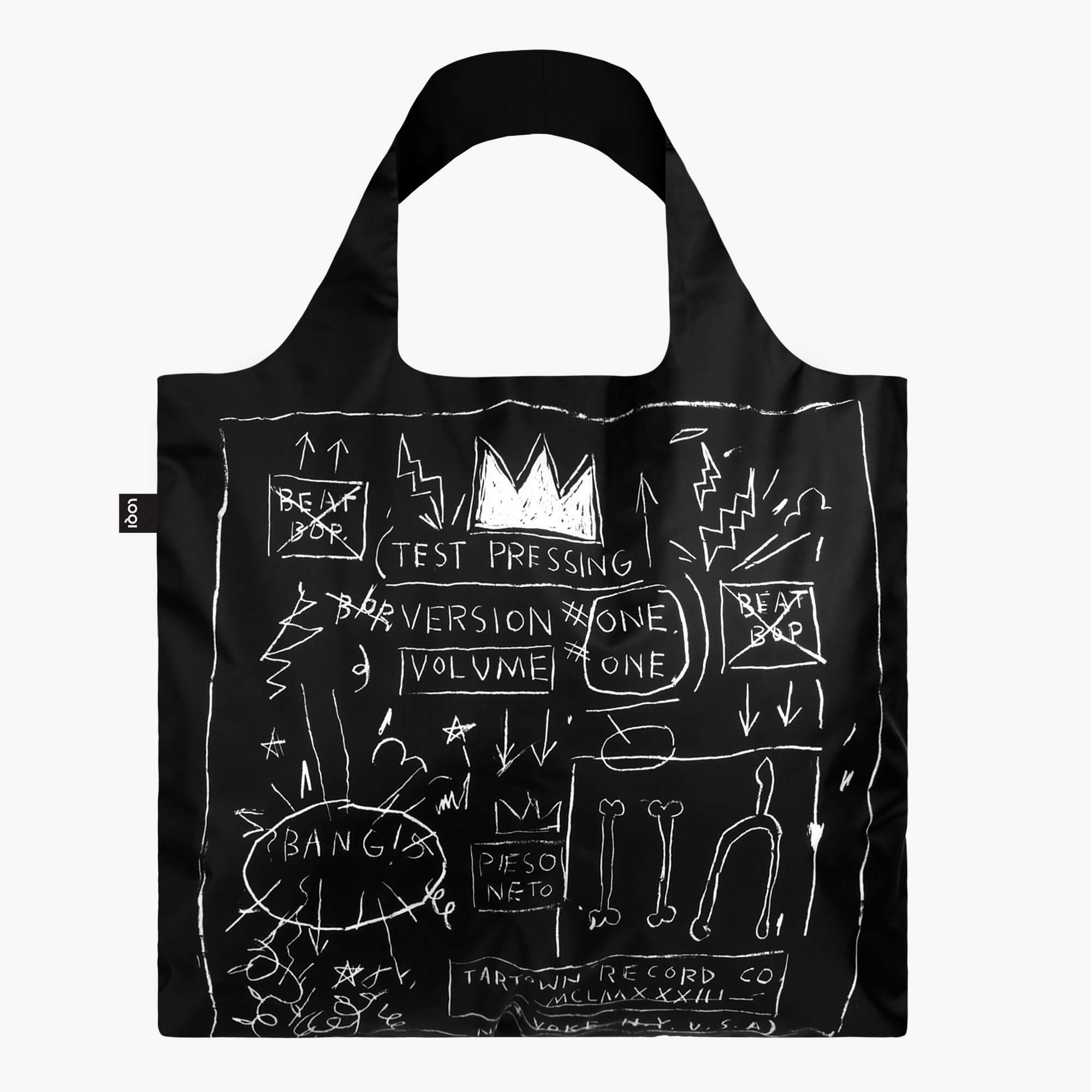 LOQI Jean-Michel Basquiat Crown Bag