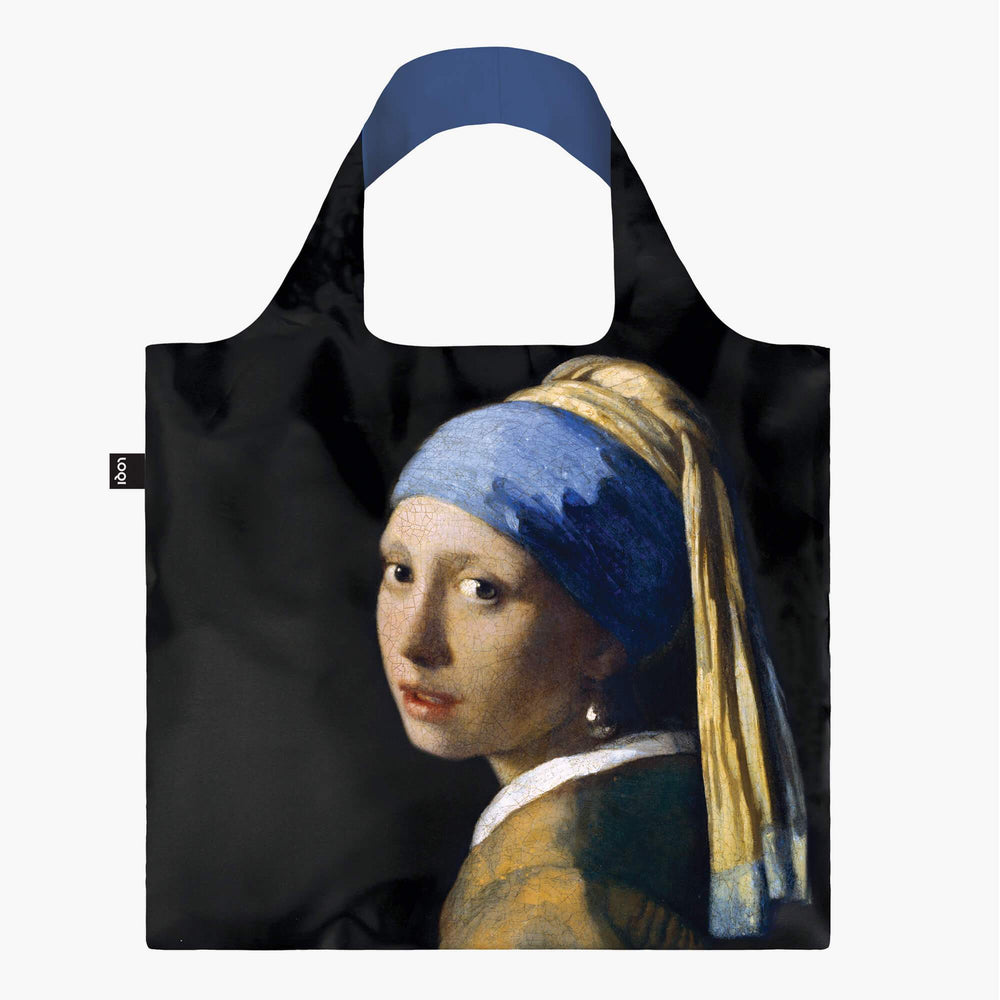 LOQI Johannes Vermeer Girl with a Pearl Earring, c.1665 Bag