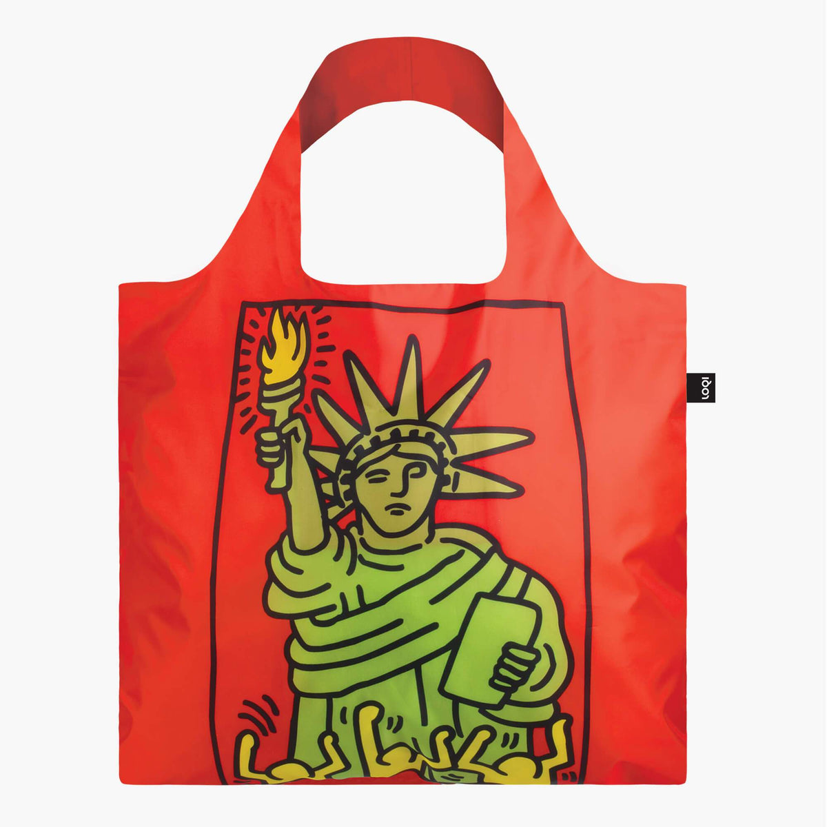 LOQI Keith Haring New York Bag Back