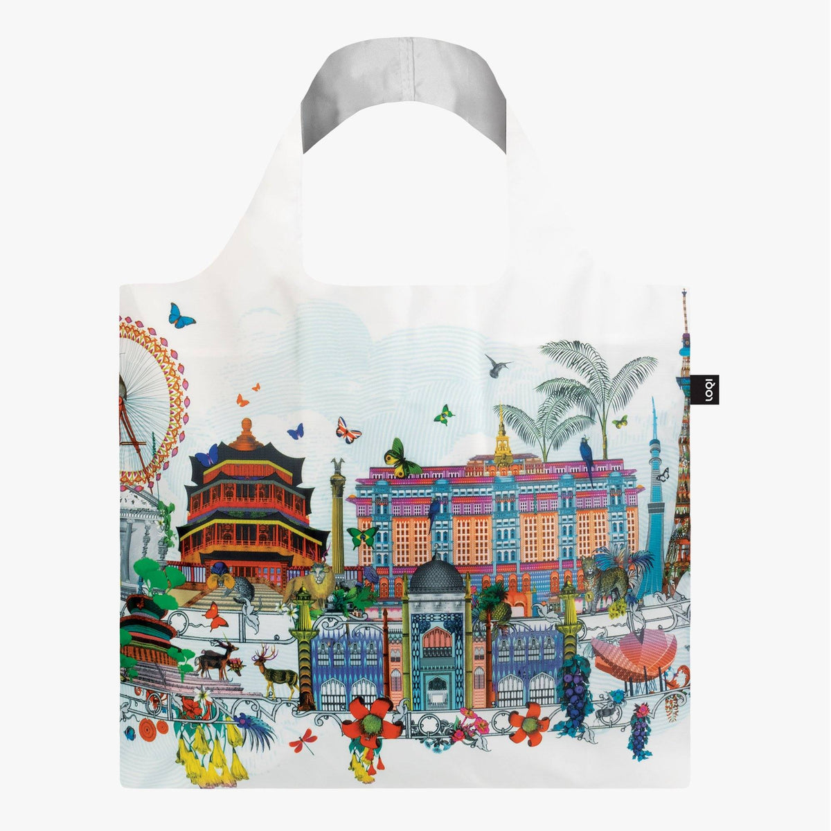 LOQI Kristjana S Williams Interiors World Skyline Bag Back