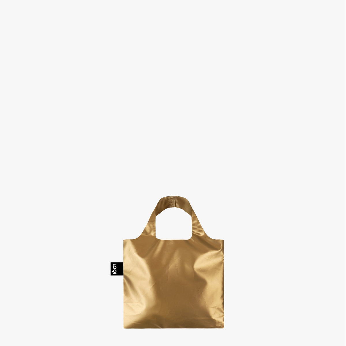 LOQI Metallic Gold Mini Bag