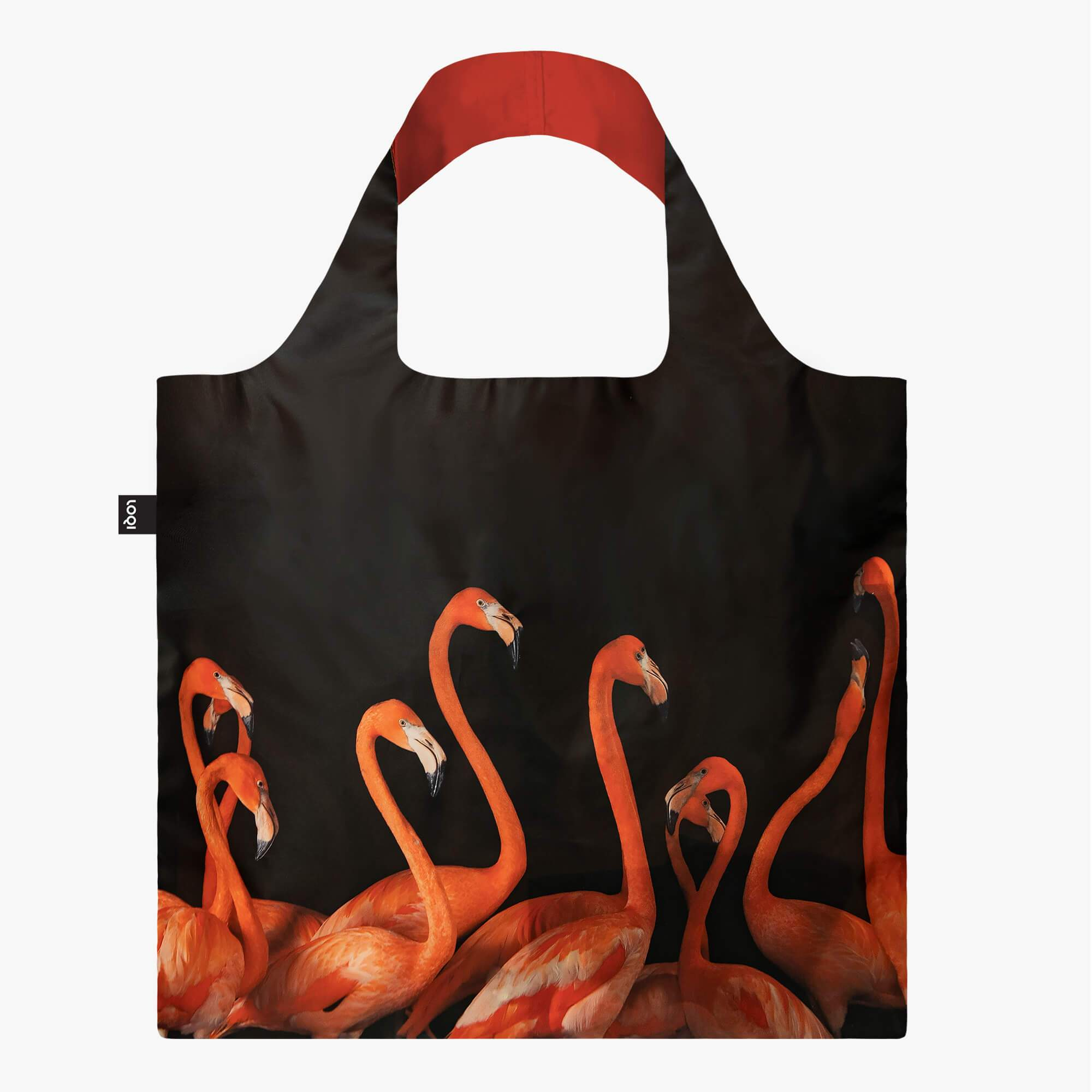 LOQI National Geographic Photo Ark Flamingos Bag