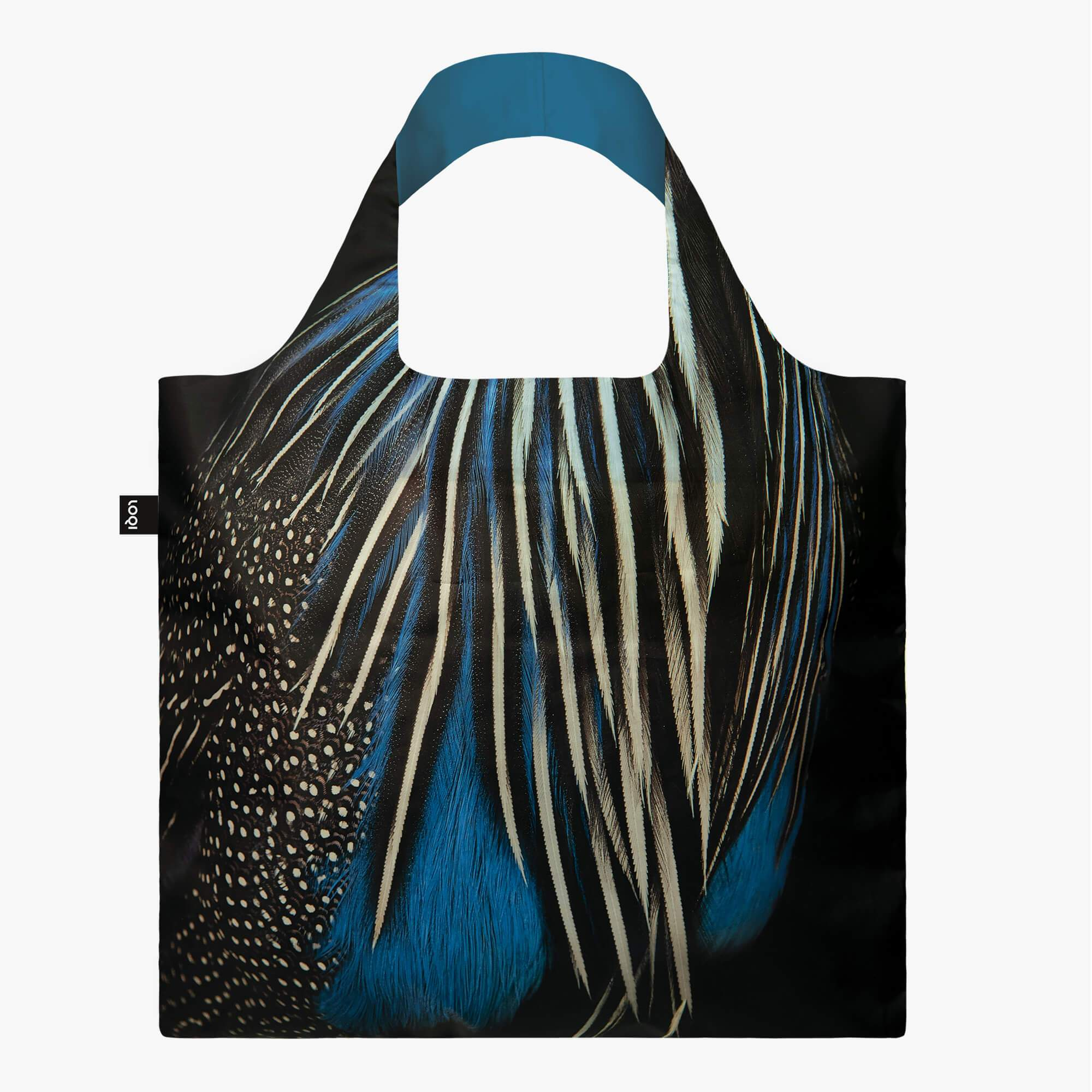 LOQI National Geographic Photo Ark Guineafowl Bag