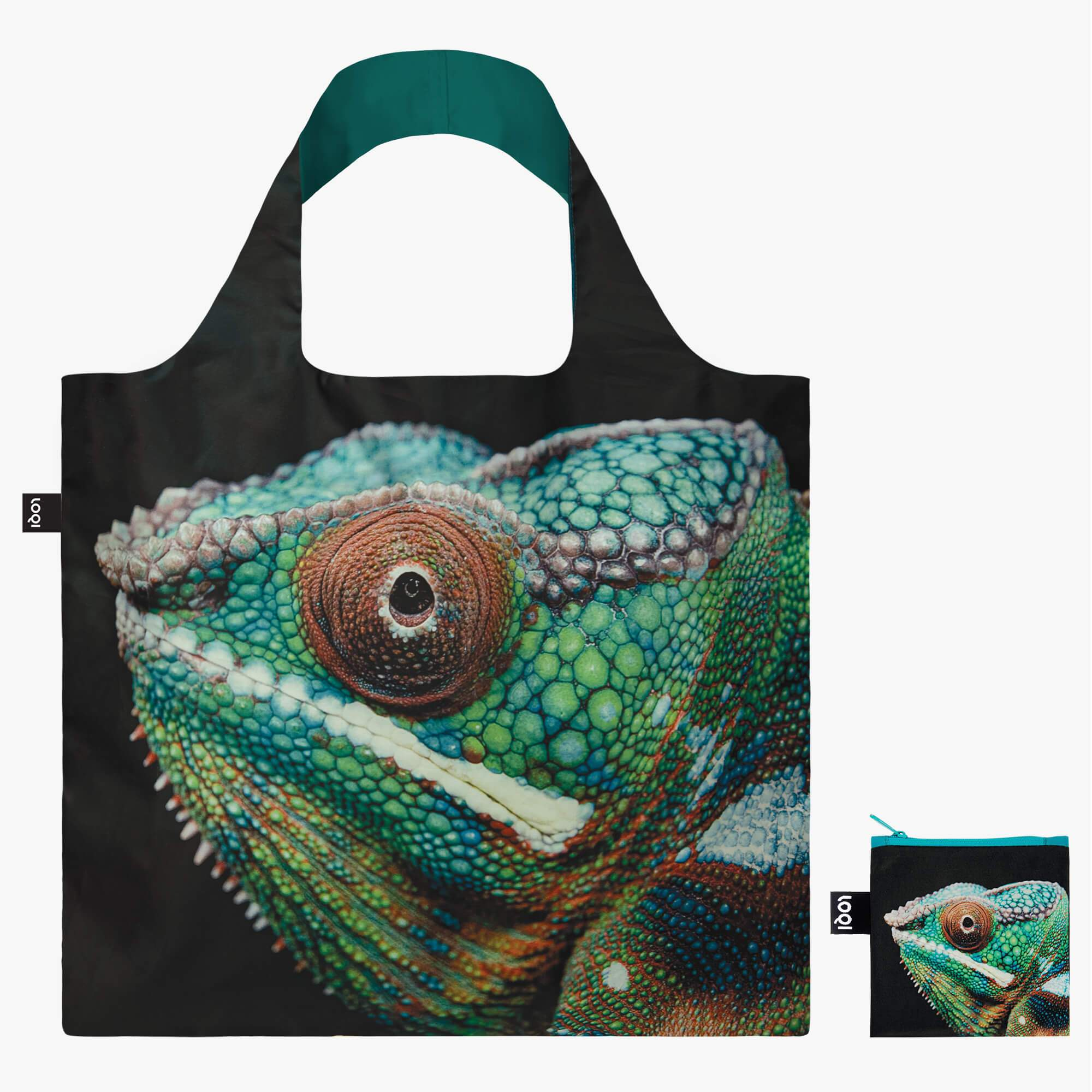 LOQI National Geographic Photo Ark Panther Chameleon Bag