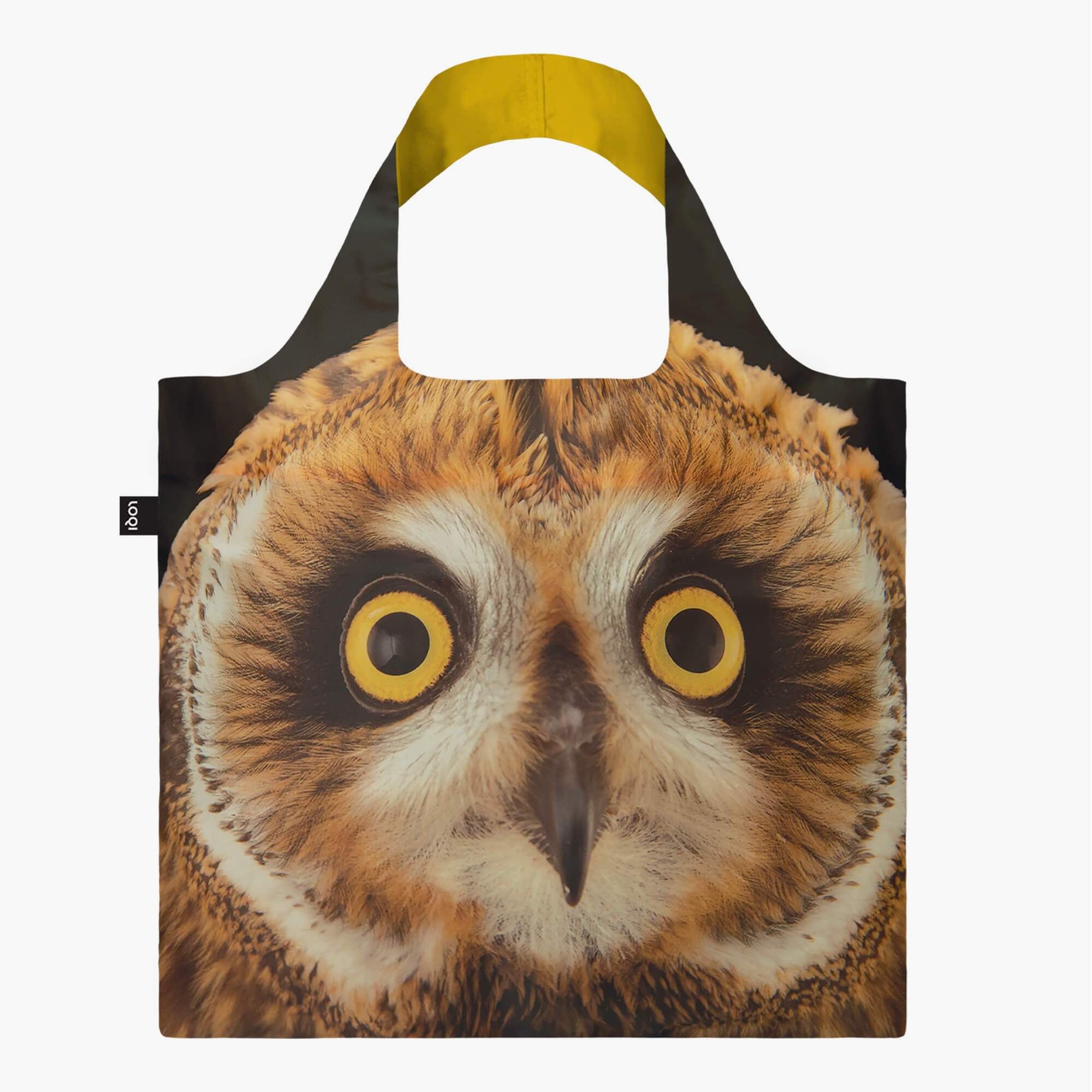 LOQI National Geographic Photo Ark Short-eared Owl Bag