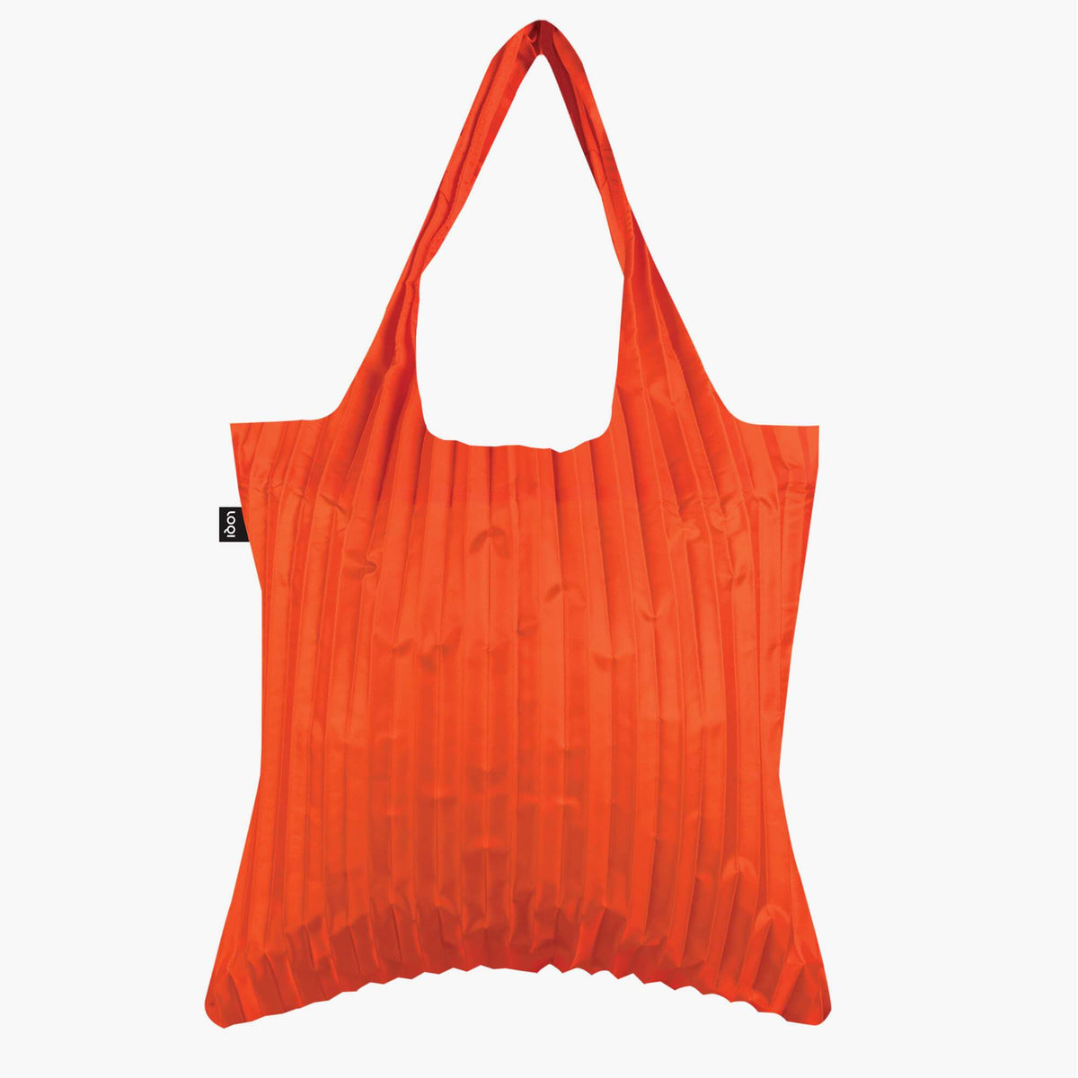 LOQI Pleated Orange Bag