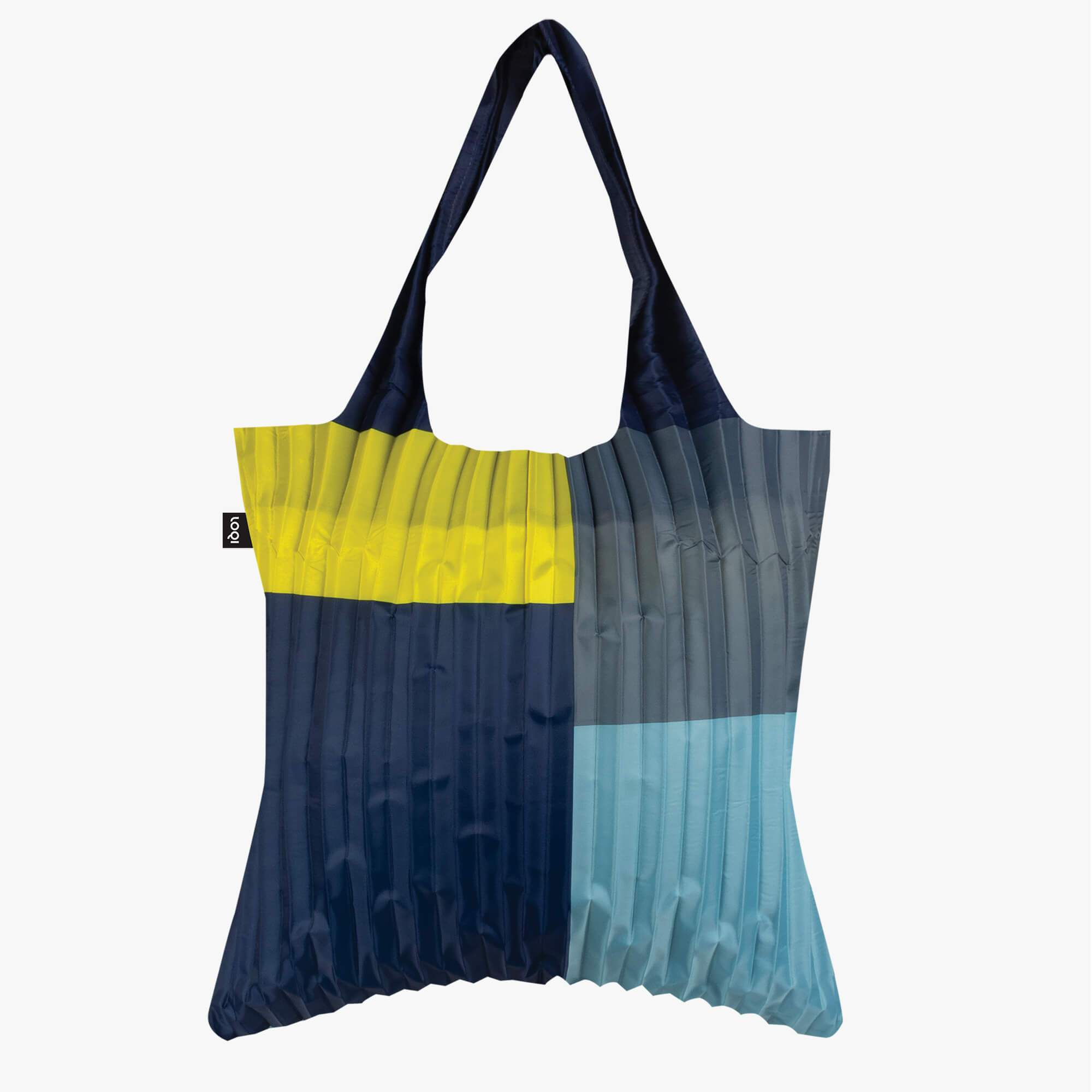 LOQI Pleated Sunshine Bag
