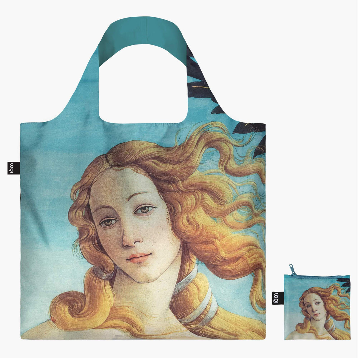 LOQI Sandro Botticelli The Birth of Venus, 1484-86 Bag with Zip Pocket