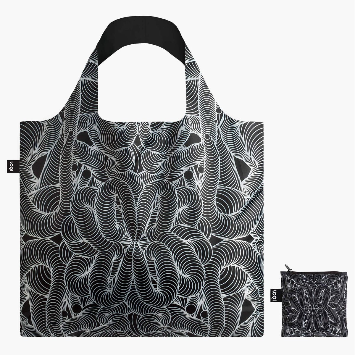 Beauty Pattern tote Bag and zip pocket