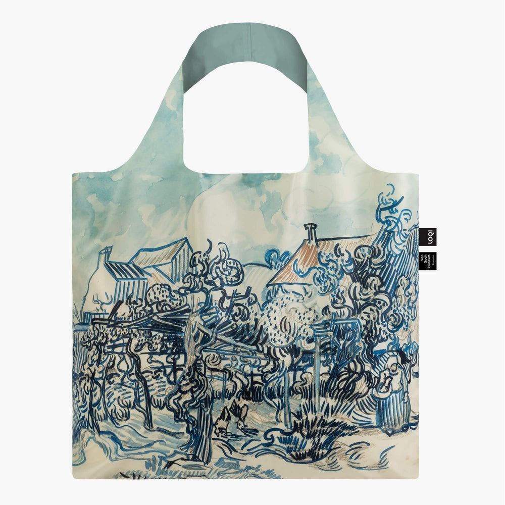 LOQI Vincent van Gogh Old Vineyard and Landscape Bag Back