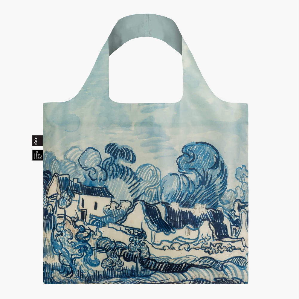 LOQI Vincent van Gogh Old Vineyard and Landscape Bag Front