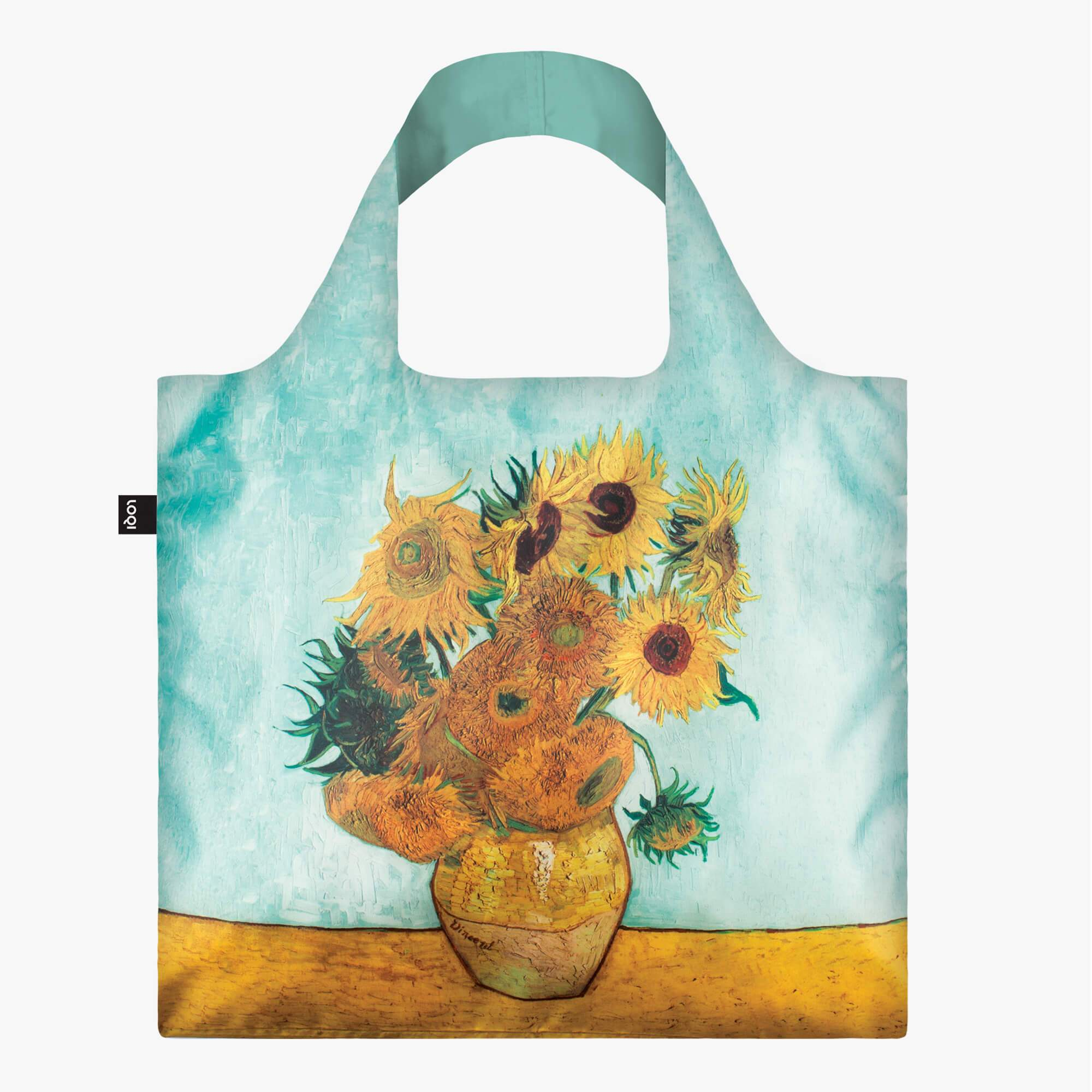 LOQI Vincent van Gogh Vase with Sunflowers, 1888 Bag
