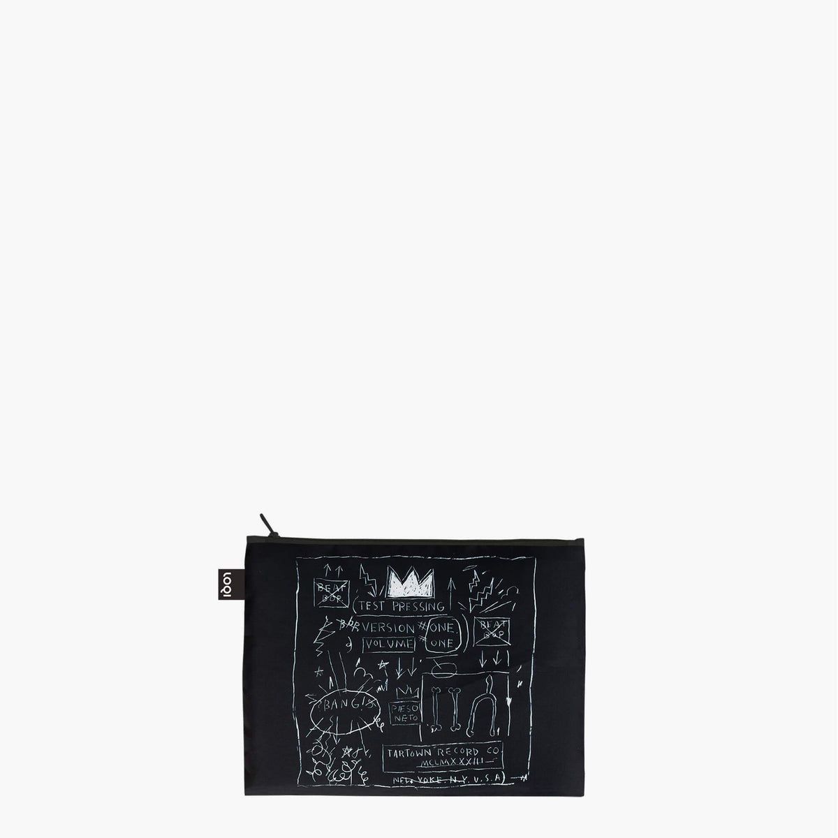 LOQI Jean-Michel Basquiat Zip Pockets Midi