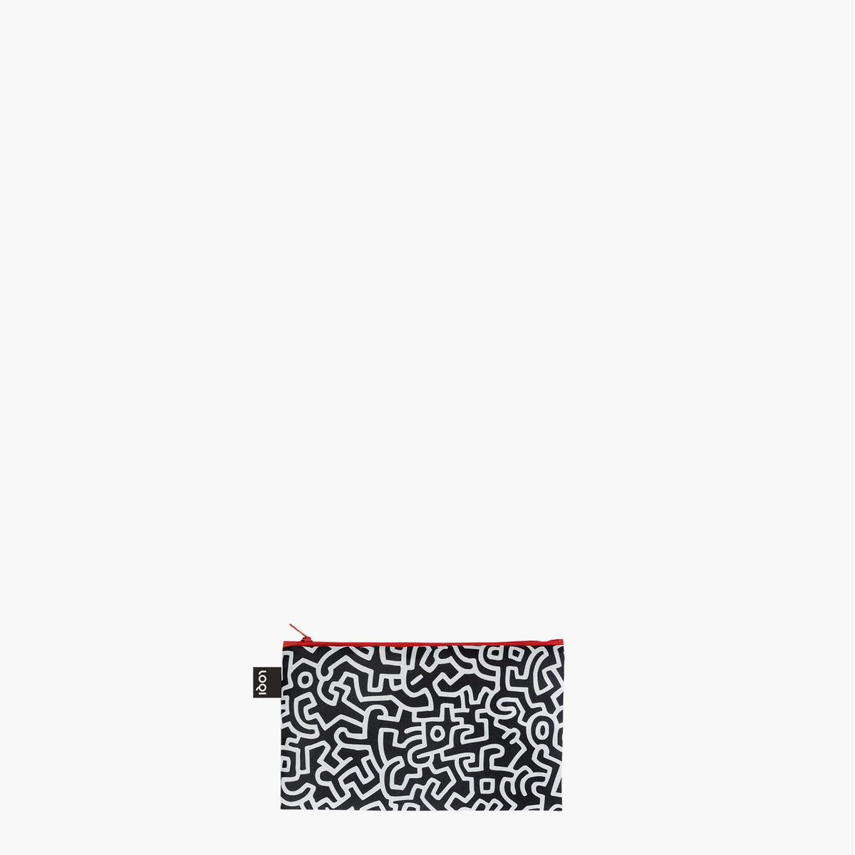 LOQI Keith Haring New York Zip Pockets Mini