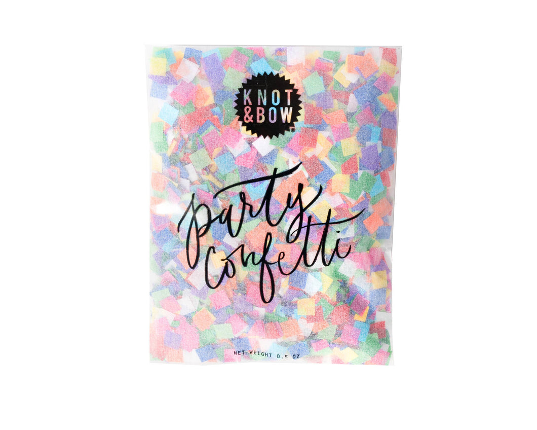 Tiny Rainbow Party Confetti Bag