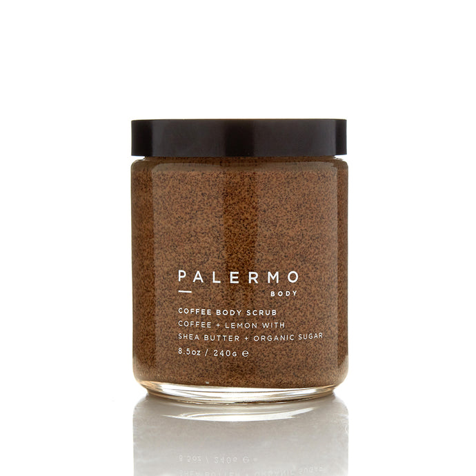 Palermo Body Coffee Body Scrub - Coffee + Lemon