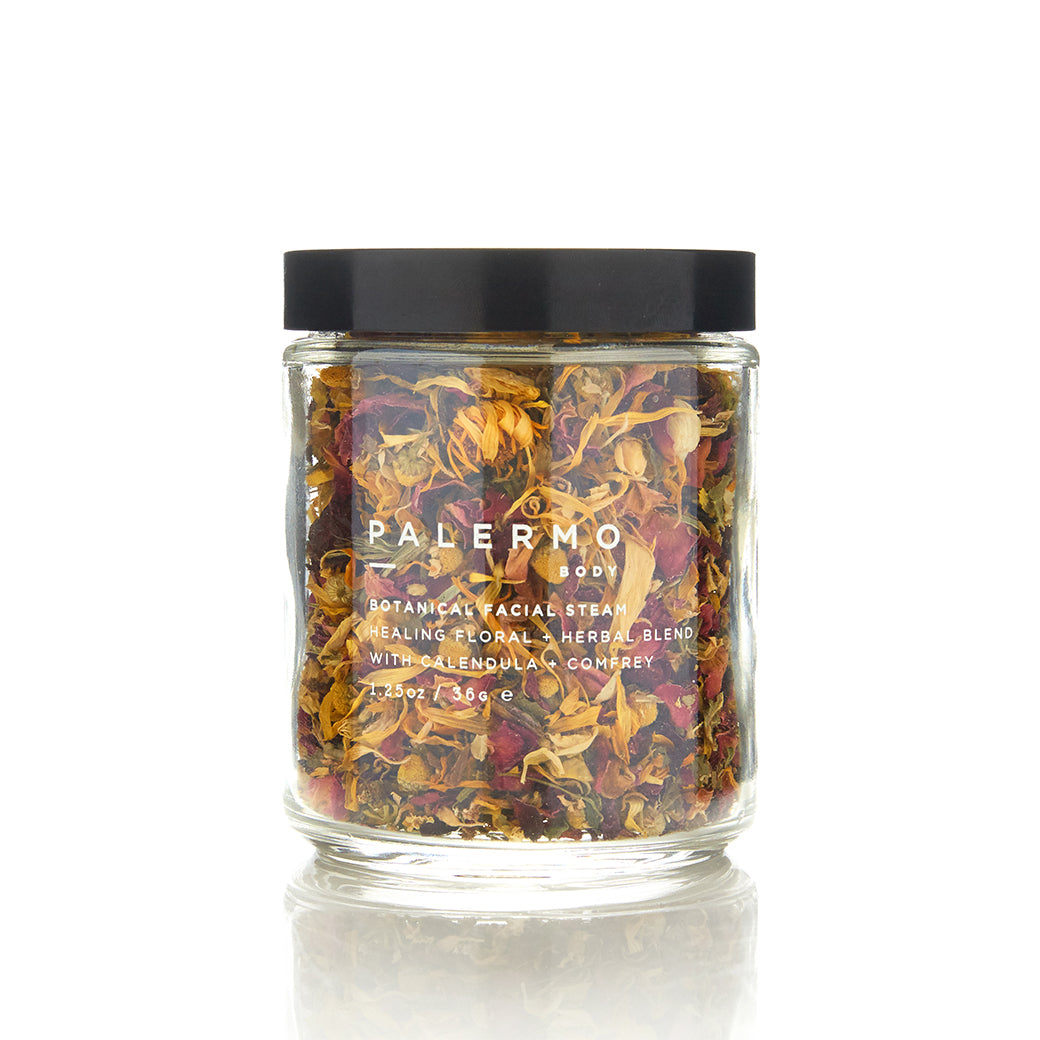 Palermo Body Botanical Facial Steam Healing Herbal + Floral Blend