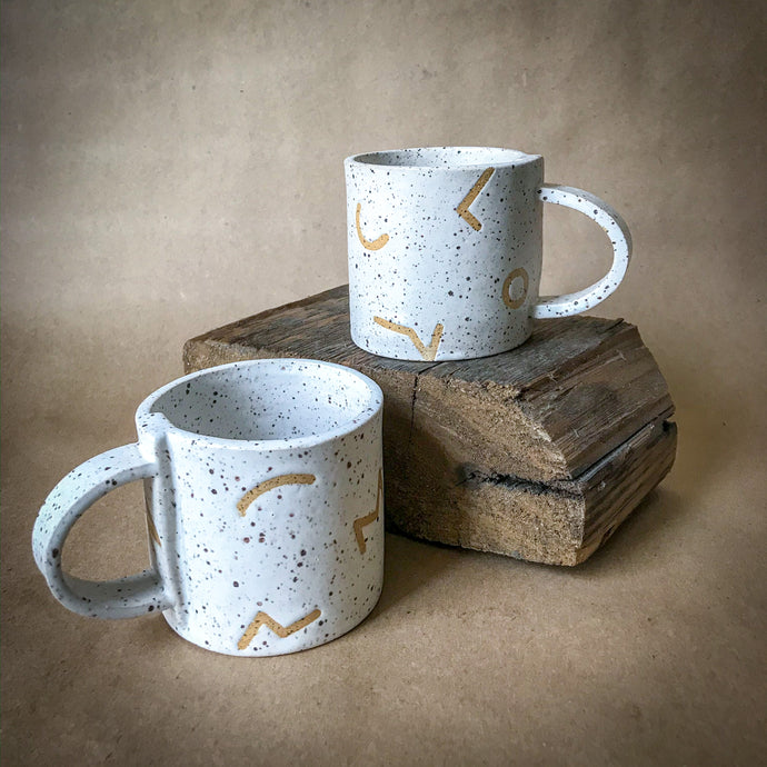 Sugarhouse Ceramics Patterned Mugs