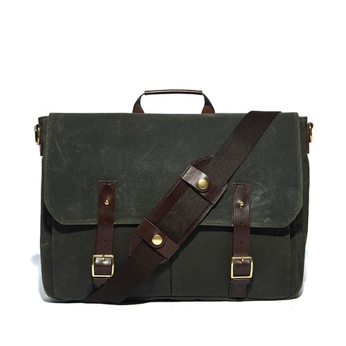 Stanton Wax Messenger Bag