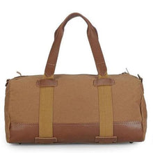 Load image into Gallery viewer, Dapper Khaki Duffle  Weekender Bag