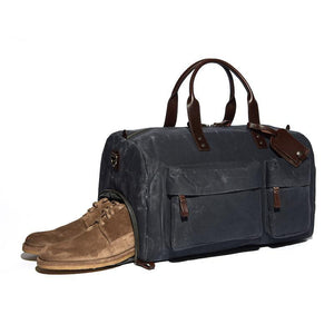Dapper Wax Shoe Duffel Bag