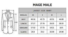 Load image into Gallery viewer, Men's Casual Blazer Slim Fit Plaid One Button Dapper Business Suit Jacket Sport Coat-Don Dapper Store