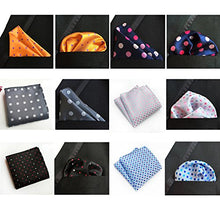Load image into Gallery viewer, Dapper Pocket Squares For Men Assorted 12 Pack-Don Dapper Store
