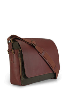 Green Dapper Messenger Bag