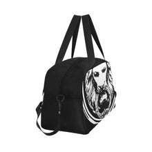 Load image into Gallery viewer, Large Lion Weekend Travel Bag