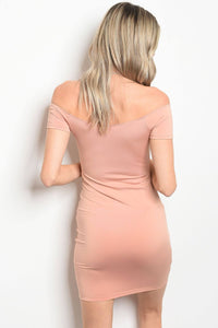 Ladies fashion short sleeve fitted bodycon dress that features a sweetheart neckline-Don Dapper Store