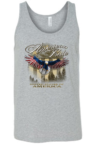Men's American Pride USA Flag Tank Top Shirt-Don Dapper Store