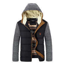 Load image into Gallery viewer, Urban Contrast Hooded Parka Jacket