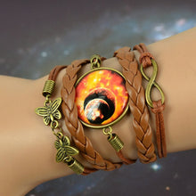 Load image into Gallery viewer, Vintage Inspired Boho Starry Moon Bracelet-Don Dapper Store