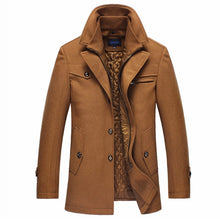 Load image into Gallery viewer, Inner Quilted Gentleman's Trench Coat-Don Dapper