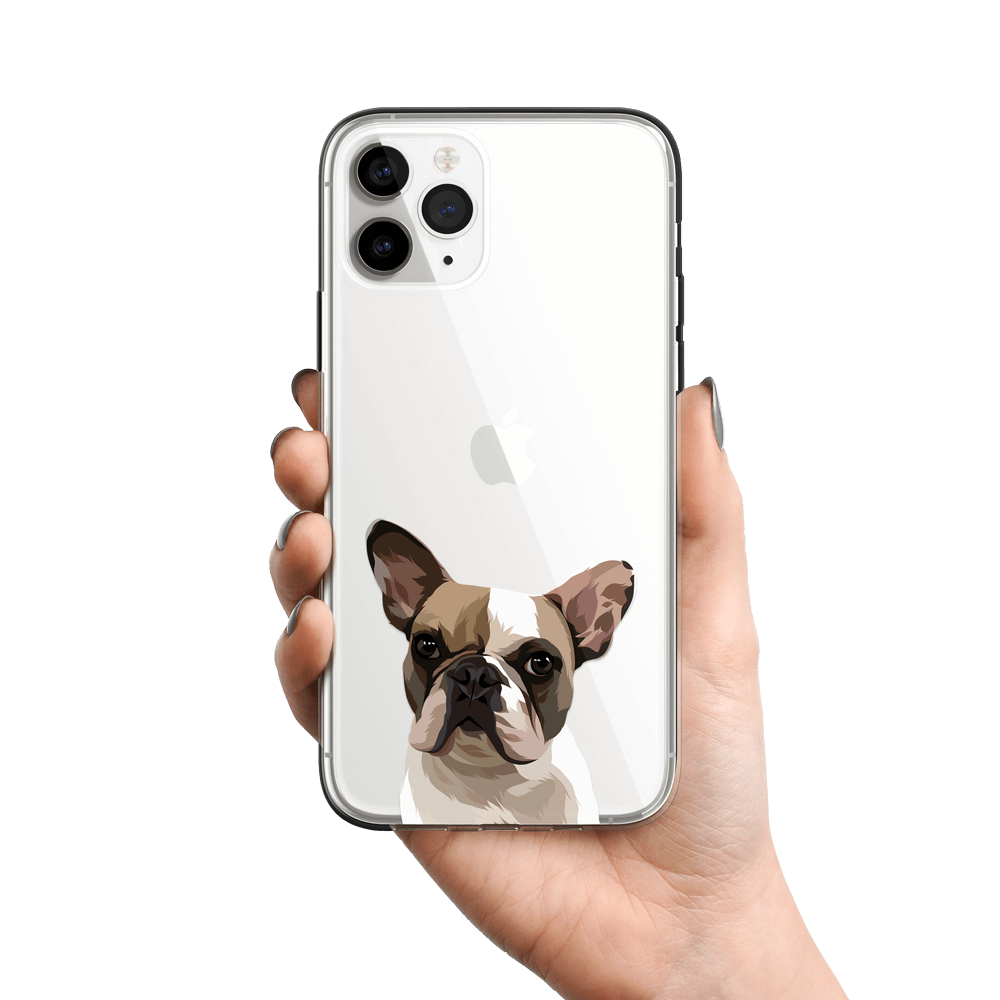 Custom Pet Portrait Phone Cases