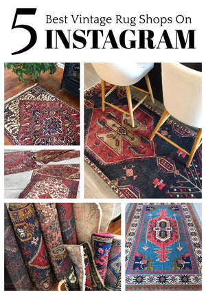 The 5 Best Vintage Rug Shops On Instagram