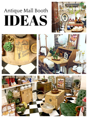 Antique Mall Booth Ideas: My First Booth At Pomona Antique Mart
