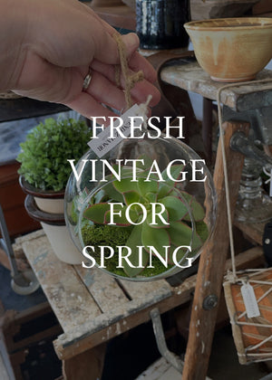 Fresh Vintage Ready For Spring