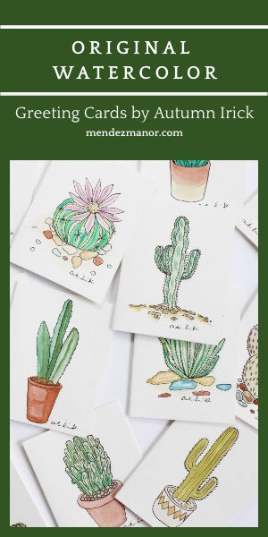 watercolor fine art greeting cards