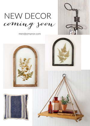 Introducing the CTW Home Collection: New Decor Coming Soon