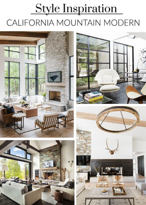 Style Inspiration: California Mountain Modern with Vintage Vibes