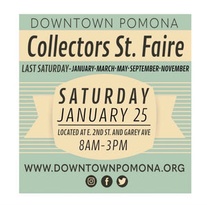 Collectors Street Faire This Saturday