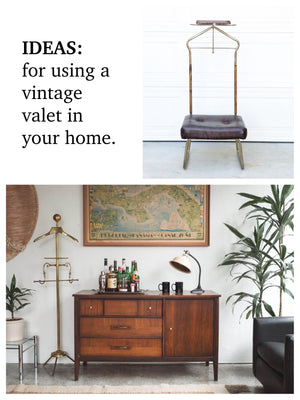 Ideas For Reusing A Vintage Gentleman's Valet