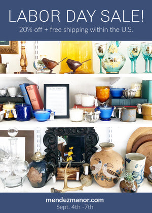 Labor Day Sale: 20% Off Vintage Home Decor & Design Services