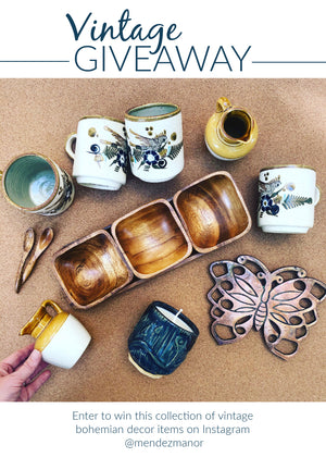 Vintage Home Accessories Giveaway