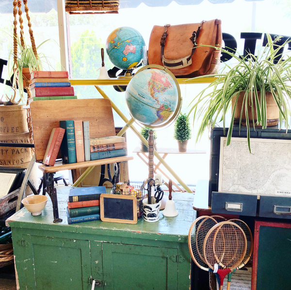 Vintage booth ideas Location Inside Pomona Antique Mart - Mendez Manor