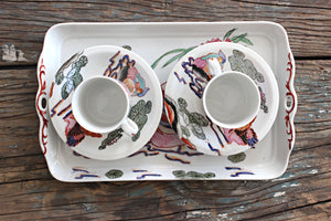 Vintage Chinese Tea/Espresso Set