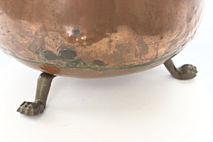 antique copper pot